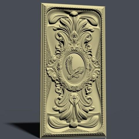 nardy8.jpg Download free STL file Eagle frame cnc • 3D printable template, STLmodelforfree