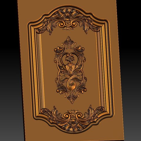 17.jpg Download free STL file pack of frame cnc art for home decoration renaissance style • 3D print object, STLmodelforfree