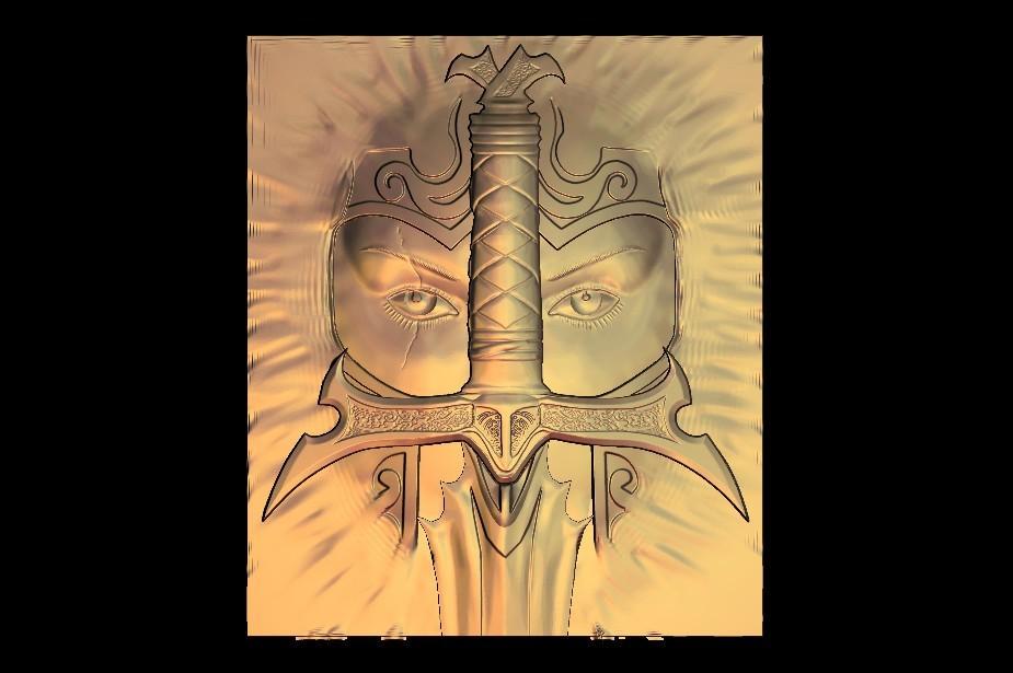 9_1.jpg Download free STL file warrior sword • 3D print design, STLmodelforfree