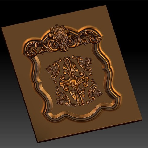 7.jpg Download free STL file pack of frame cnc art for home decoration renaissance style • 3D print object, STLmodelforfree