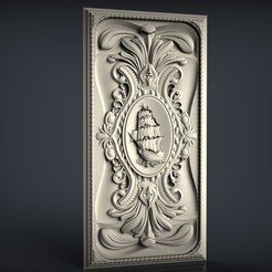 nardy2.jpg Download free STL file frame ship renaissance cnc • 3D printing design, STLmodelforfree