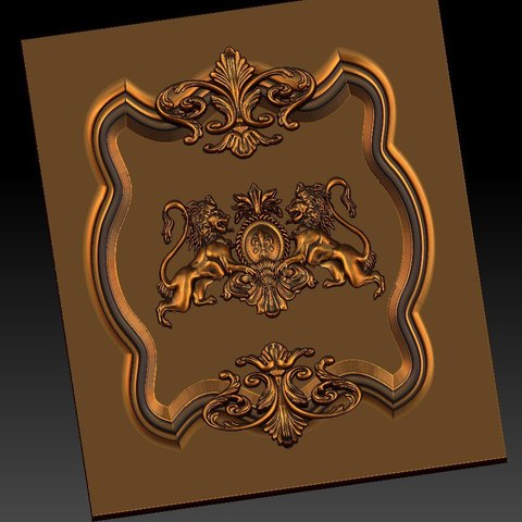 10.jpg Download free STL file pack of frame cnc art for home decoration renaissance style • 3D print object, STLmodelforfree