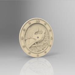Descargar modelos 3D gratis reloj de faisán, STLmodelforfree