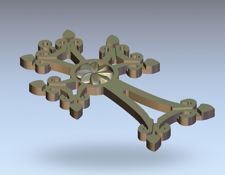 21.jpg Download free STL file cross art • 3D printable template, STLmodelforfree
