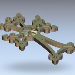 21.jpg Download free STL file cross art • 3D printable template, STLmodelforfree