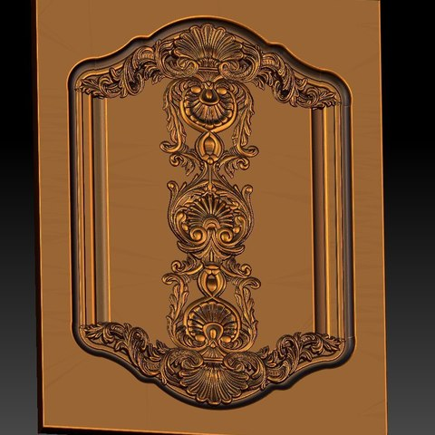 20.jpg Download free STL file pack of frame cnc art for home decoration renaissance style • 3D print object, STLmodelforfree