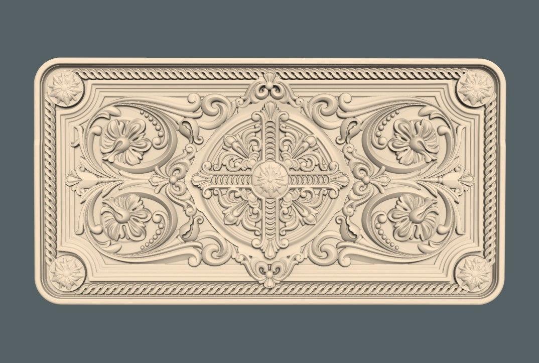 vstavka.jpg Download free STL file cnc renaissance decoration art • Object to 3D print, STLmodelforfree