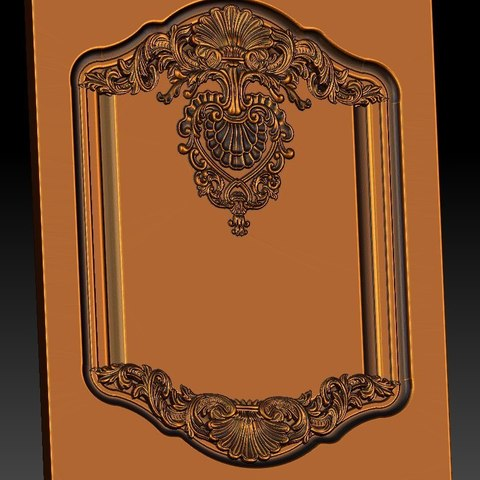 19.jpg Download free STL file pack of frame cnc art for home decoration renaissance style • 3D print object, STLmodelforfree