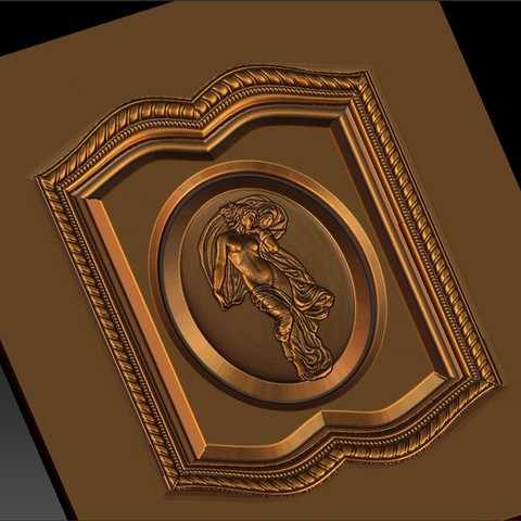 16.jpg Download free STL file pack of frame cnc art for home decoration renaissance style • 3D print object, STLmodelforfree