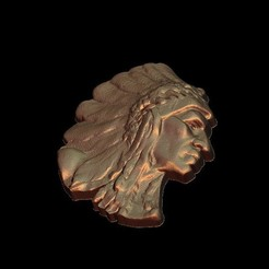 Download free 3D printer designs Native american, STLmodelforfree