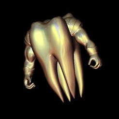 Download free 3D printer model Tooth warrior, STLmodelforfree