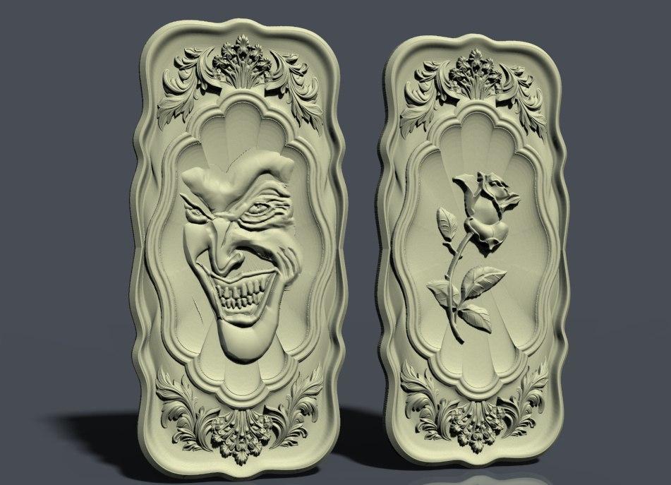 nardy10.jpg Download free STL file Rose cnc art • 3D printable design, STLmodelforfree