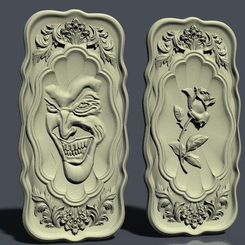 Download free 3D printer model Rose cnc art, STLmodelforfree