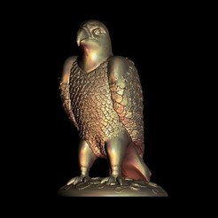Download free 3D printer templates Eagle sculpture, STLmodelforfree