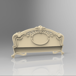 Screenshot_67.png Download free STL file decoration renaissance bed • 3D printer template, STLmodelforfree