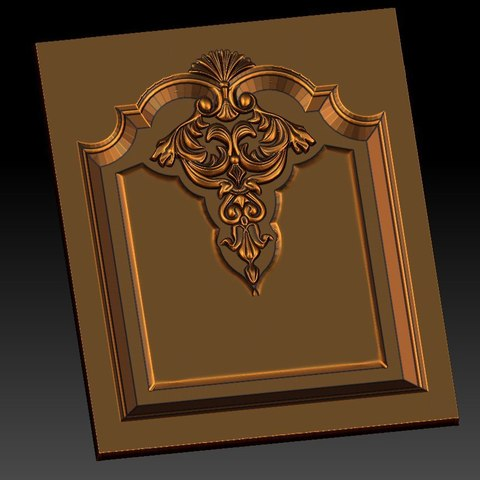 15.jpg Download free STL file pack of frame cnc art for home decoration renaissance style • 3D print object, STLmodelforfree