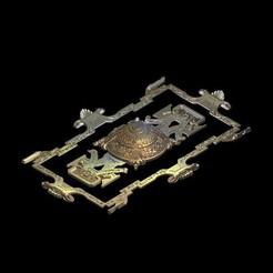 Descargar archivo 3D gratis arte medieval, STLmodelforfree