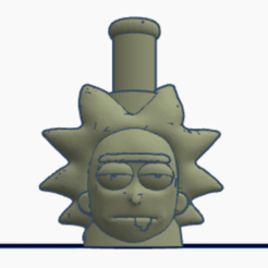 Download 3D printing models Rick Cachimba Mouthpiece, fernanmovil46