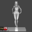 Download 3D printing models Asa Akira the kinky Asian Bondage, ROMFX