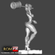 Download 3D printing designs Harley Quinn Sexy 3D Printable Action Figure, ROMFX