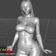 Download 3D printer model Kim Kardashian - 3D Figure Printable, ROMFX