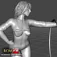 3D printer models Abella Danger - Pornstar Nymph Figure Printable, ROMFX