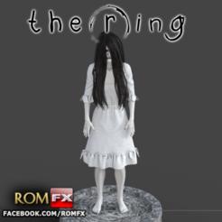 Descargar archivo 3D Samara El Anillo - Figura de Terror Imprimible, ROMFX