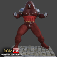 3D print files Unstoppable Colossus - Might Action Figure, ROMFX
