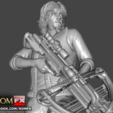 Download 3D print files The Walking Dead Diorama Action Figures Printables, ROMFX