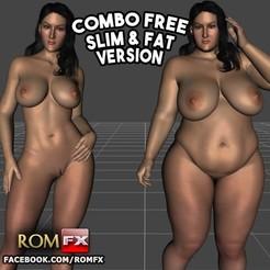 Download 3D printing designs Carmella Bing Pornstar Figure Printable, ROMFX