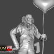 Descargar STL El Payaso Malvado - Una Figura Espeluznante Imprimible, ROMFX