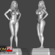 Download 3D printer templates Phoenix Marie - Adult Porn Star Actress Figure Printable, ROMFX
