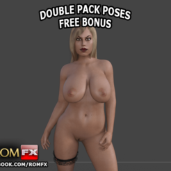 3D printer files Bridgette B the Porn Busty Doll - Printable, ROMFX