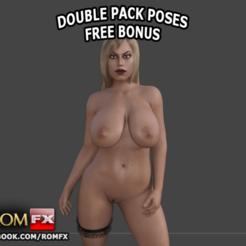 STL Bridgette B the Porn Busty Doll - Imprimible, ROMFX