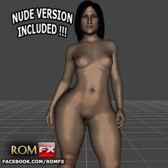 3D printing model Luscious Lopez Hot Latin Pornstar - Printable, ROMFX