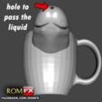 Download 3D model Funny Dick Mug Low Poly, ROMFX