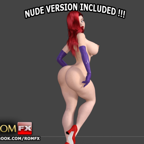 Jessica Rabbit the sexy curvaceous Pin Up