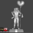 3D print model The Evil Clown - A Creepy Figure Printable, ROMFX