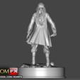 3D printing model Captain Jack Sparrow - Pirates of the Caribbean 3d Figure Printable, ROMFX