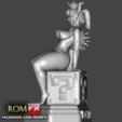 STL Bowsette Super Mario's Erotic Princess - 3D Figure Printable, ROMFX