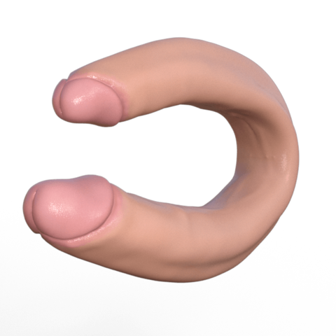 Download 3D printing templates Double Dildo - Double Dick, ROMFX