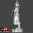 STL file Blade Vampire Hunter - 3D Printable Figure, ROMFX