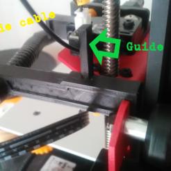 Modelos 3D gratis SOPORTE DE CABLES y GUÍA DE CABLES, DoBerT42