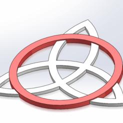 Plan imprimante 3D Nœud celtique 2 pièces, rdebiaso4665