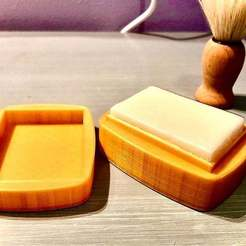 Download free 3D printing models Shaving soap box, Pierrolalune63