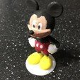 Download free 3D printer model Mickey Mouse, Disney, Character, Toy, Pierrolalune63