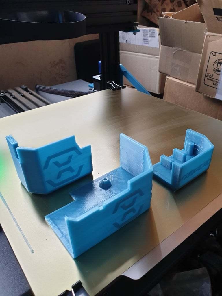20200607_114600.jpg Download free STL file Artillery Sidewinder X1 Cover Set • 3D printer design, helmuteder
