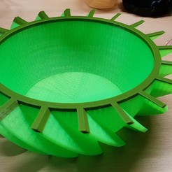 Download free STL file Fruit Bowl • 3D printable object, helmuteder