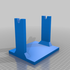 Download free STL file Table Filament Spool Holder • 3D printer template, helmuteder