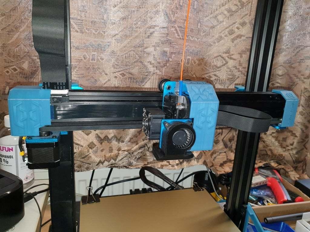 20200607_115218.jpg Download free STL file Artillery Sidewinder X1 Cover Set • 3D printer design, helmuteder